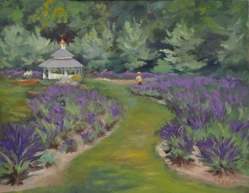 Gazebo at Lavender Pond Farm