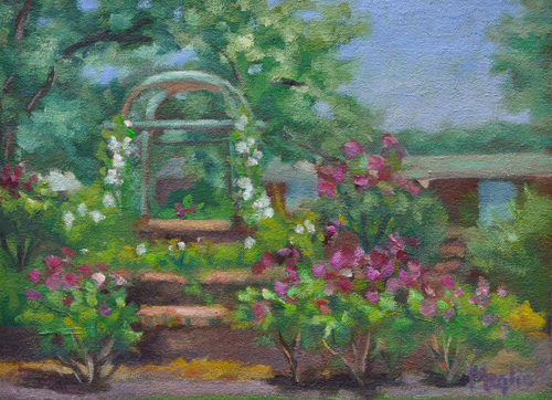 Trellis Pardee Rose Garden